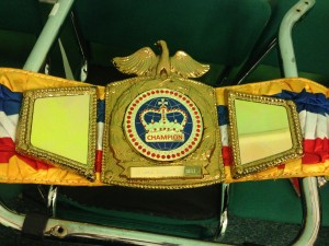 Joe Hurn's Challenge Belt