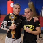 Walsh Bothers Liam and Ryan Walsh British title holders
