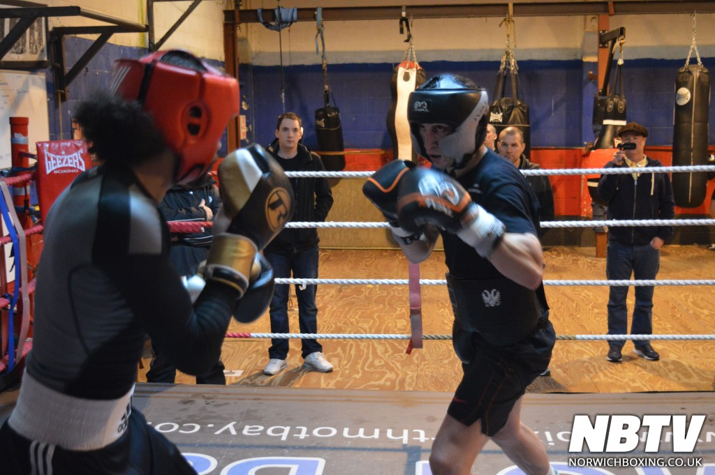Alan Ratibb Sparring at the Kickstop gym